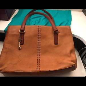 Fossil women tote bag